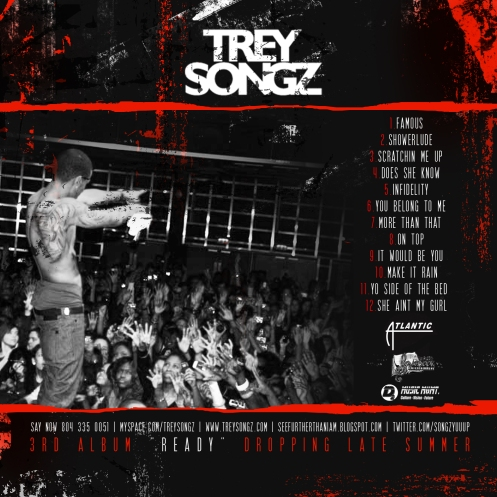 Trey Songz- Anticipation Back Cover